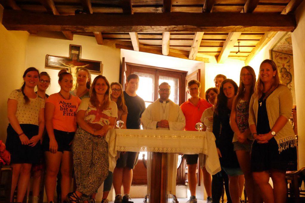 Im Sterbezimmer des Hl. Ignatius von Loyola