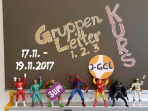 Superhelden Gruppenleiterwerkstatt von 17. - 19. November 2017